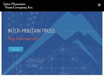 intermountaintruss.com screenshot