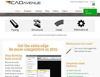 cadavenue.com screenshot