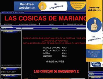 marianosky7.es.tl screenshot