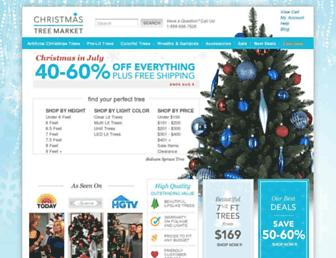 Thumbshot of Christmastreemarket.com