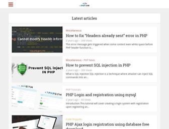 php-gym.com screenshot