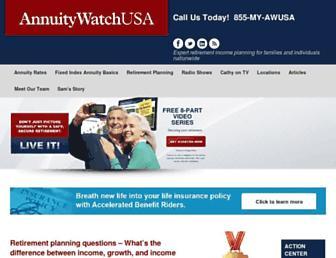 annuitywatchusa.com screenshot