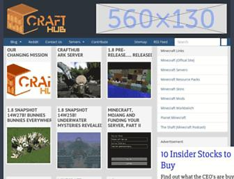 Thumbshot of Crafthub.net