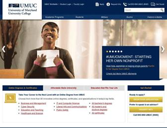 Thumbshot of Umuc.edu