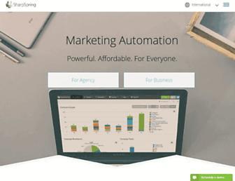 sharpspring.com screenshot