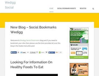 Main page screenshot of wedigg.co.uk