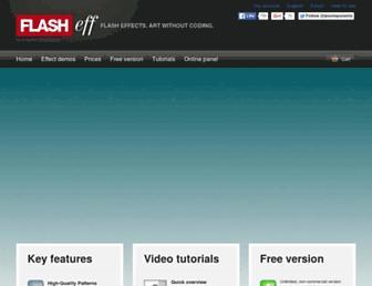 flasheff.com screenshot