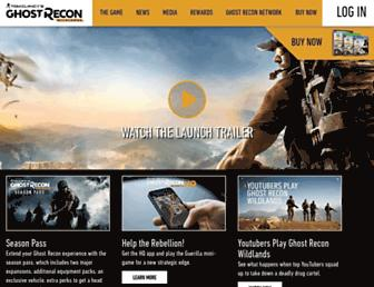 ghost-recon.ubisoft.com screenshot