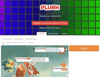 plurk.com screenshot