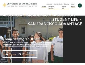 Thumbshot of Usfca.edu