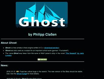 ghostchess.de screenshot