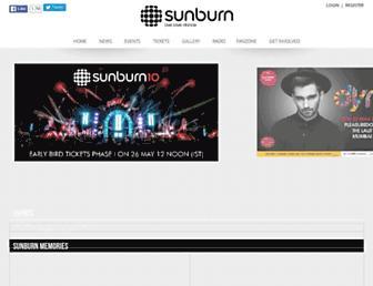 Thumbshot of Sunburn.in