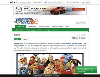 muppet.wikia.com screenshot