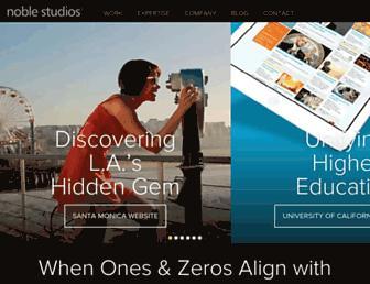 noblestudios.com screenshot