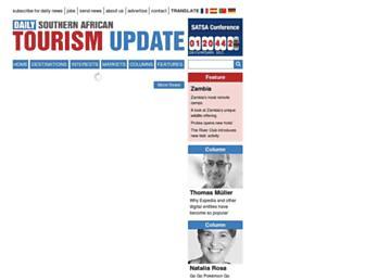 Thumbshot of Tourismupdate.co.za