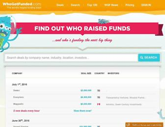 Thumbshot of Whogotfunded.com