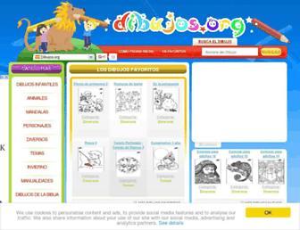 dibujos.org screenshot