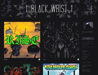 blackwrist.bandcamp.com screenshot