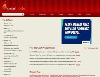 free-microsoft-project-viewer.smartcode.com screenshot