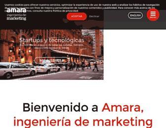 amara-marketing.com screenshot