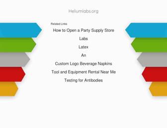 heliumlabs.org screenshot