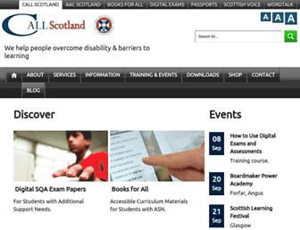 thescottishvoice.org.uk screenshot