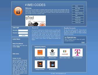 Thumbshot of Imeicodes.co.uk