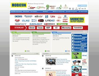 mobicon.com screenshot