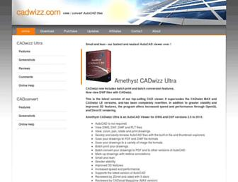 cadwizz.com screenshot
