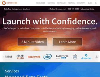 Thumbshot of Centercode.com