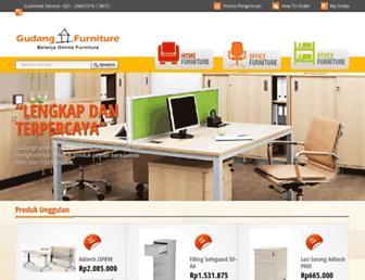 gudangfurniture.com screenshot