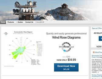 windroseexcel.com screenshot