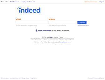 au.indeed.com screenshot
