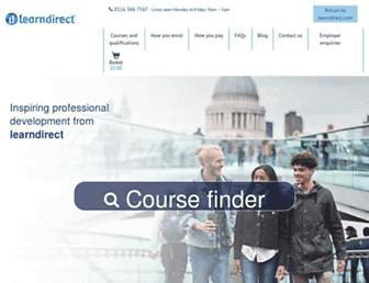 learndirectpd.com screenshot