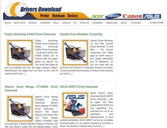 driversdownload.net screenshot