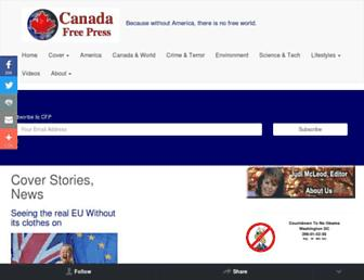 Thumbshot of Canadafreepress.com