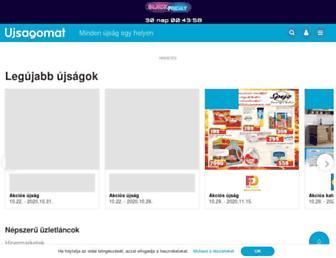 harsend01.ujsagomat.hu screenshot