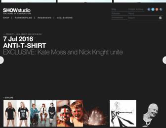 Thumbshot of Showstudio.com