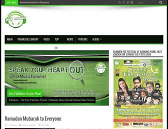 pakmusic.net screenshot
