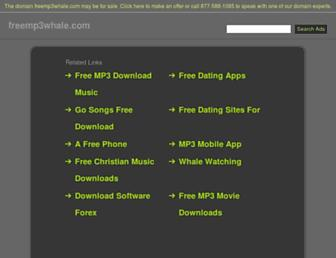 freemp3whale.com screenshot