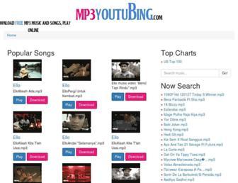 mp3youtubing.com screenshot