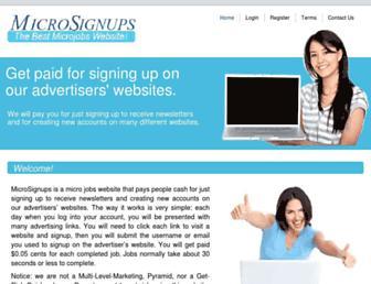 Thumbshot of Gosignups.com