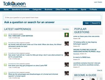 talkqueen.com screenshot
