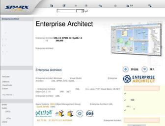 sparxsystems.jp screenshot
