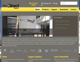 plcdirect.eu screenshot