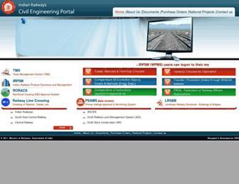 ircep.gov.in screenshot