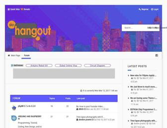 dohangout.com screenshot