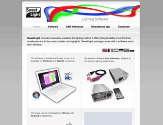 sweetlight-controller.com screenshot