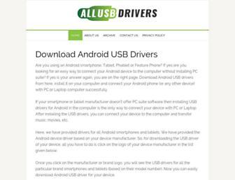 allusbdrivers.com screenshot