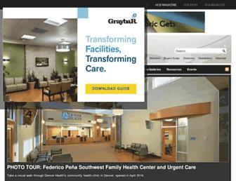 healthcaredesignmagazine.com screenshot